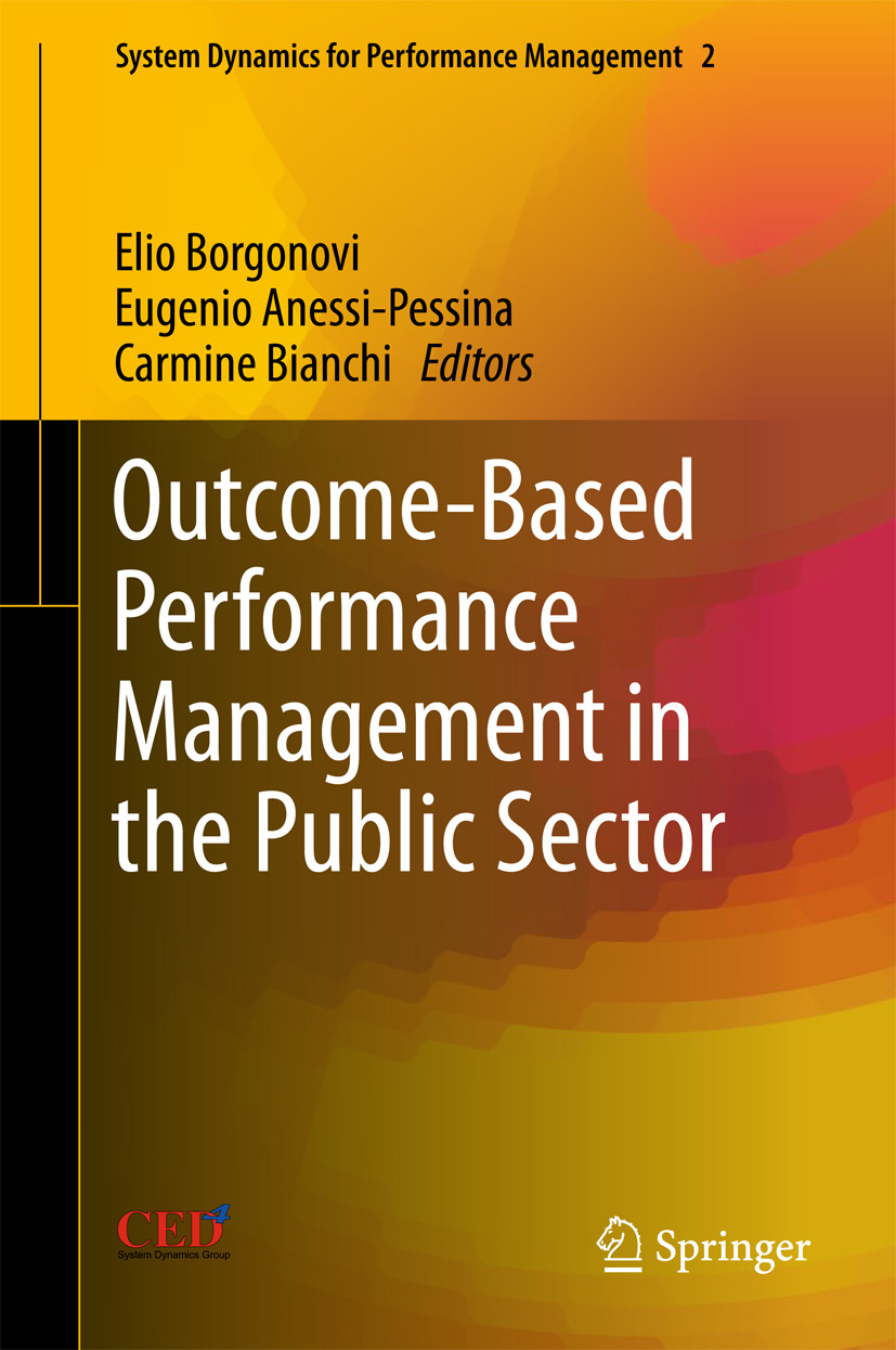 Anessi-Pessina, Eugenio - Outcome-Based Performance Management in the Public Sector, ebook