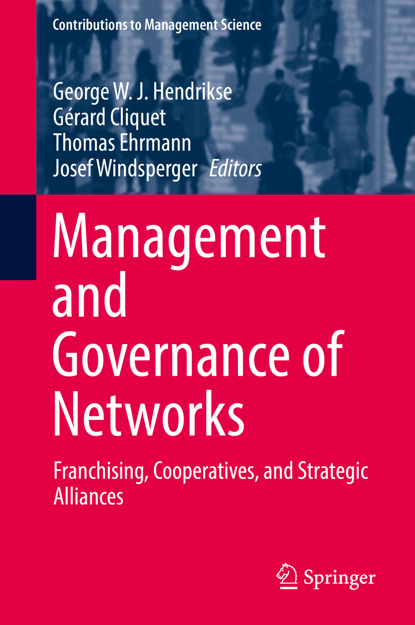 Cliquet, Gérard - Management and Governance of Networks, ebook