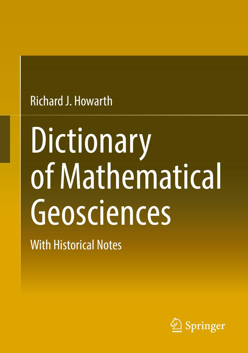 Howarth, Richard J. - Dictionary of Mathematical Geosciences, ebook