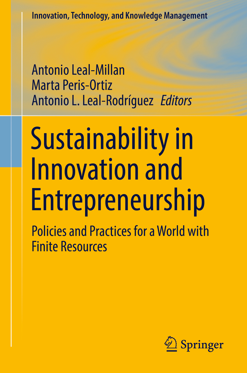Leal-Millan, Antonio - Sustainability in Innovation and Entrepreneurship, ebook