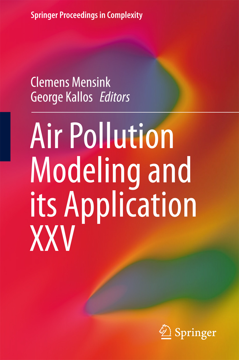 Kallos, George - Air Pollution Modeling and its Application XXV, e-bok