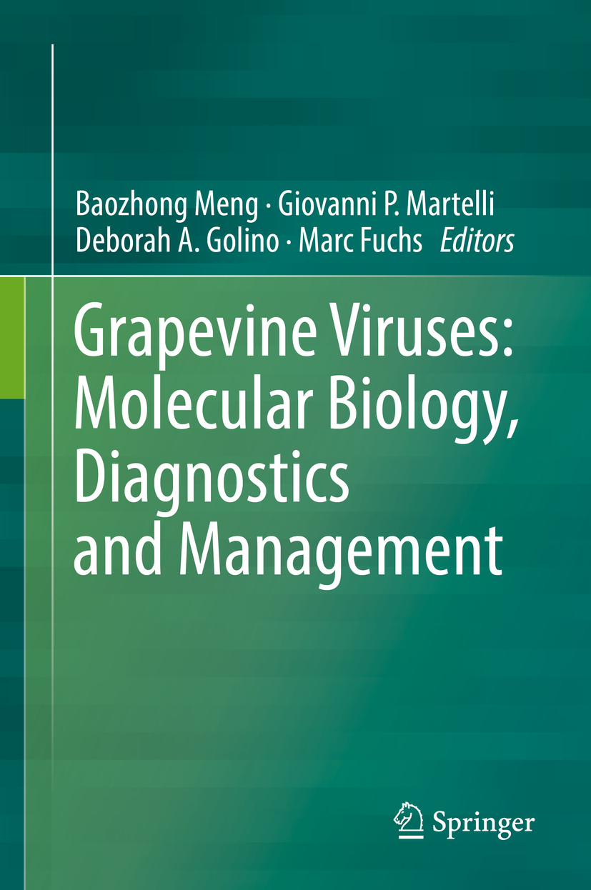 Fuchs, Marc - Grapevine Viruses: Molecular Biology, Diagnostics and Management, ebook
