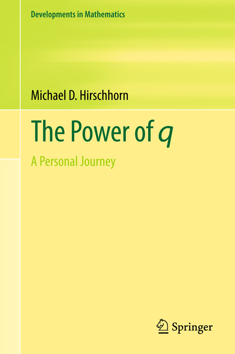 Hirschhorn, Michael D. - The Power of q, ebook
