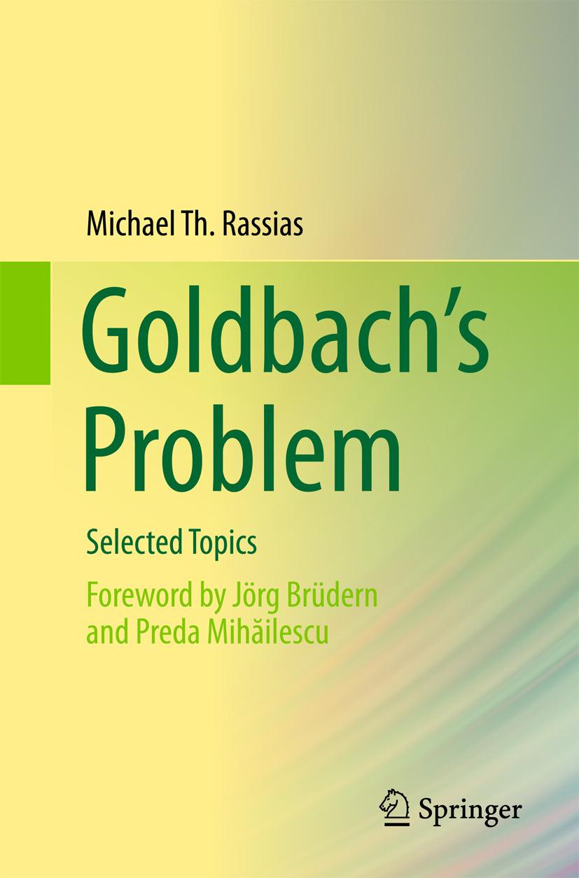 Rassias, Michael Th. - Goldbach's Problem, ebook