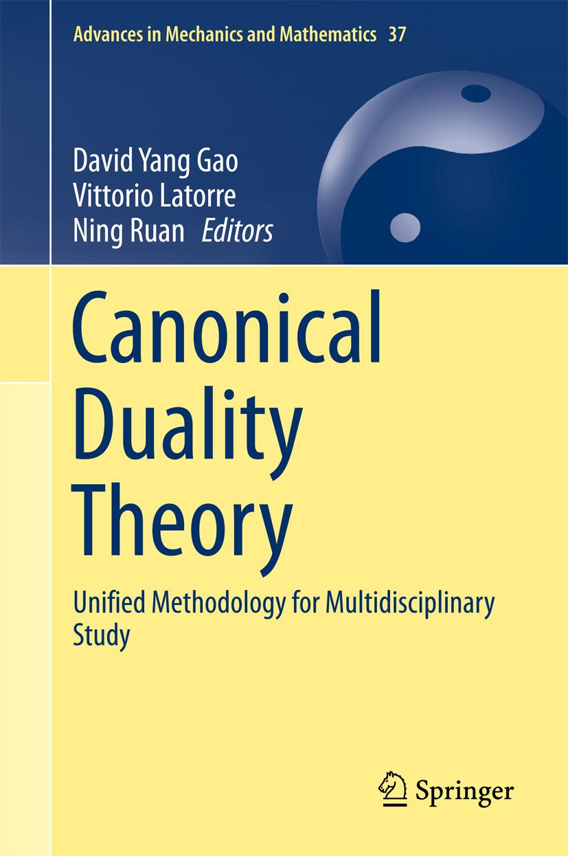 Gao, David Yang - Canonical Duality Theory, ebook