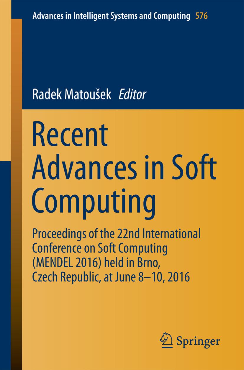 Matoušek, Radek - Recent Advances in Soft Computing, ebook