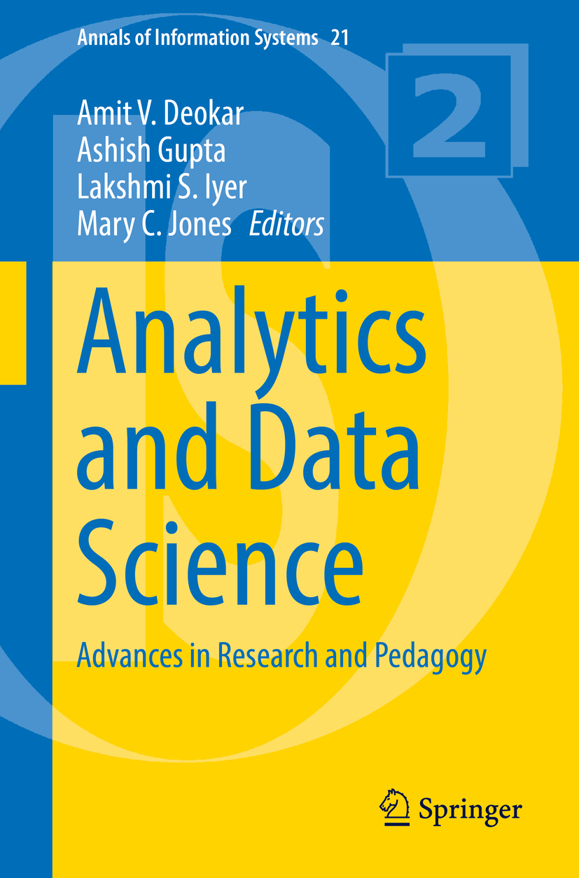 Deokar, Amit V. - Analytics and Data Science, ebook