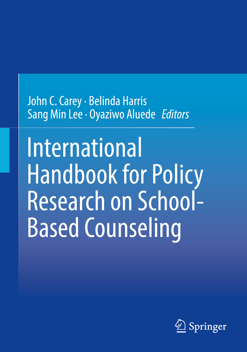 Aluede, Oyaziwo - International Handbook for Policy Research on School-Based Counseling, ebook