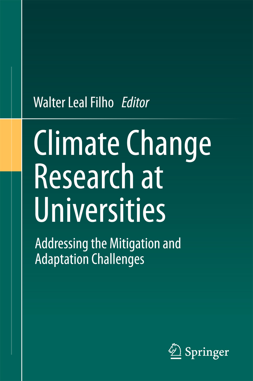 Filho, Walter Leal - Climate Change Research at Universities, e-bok