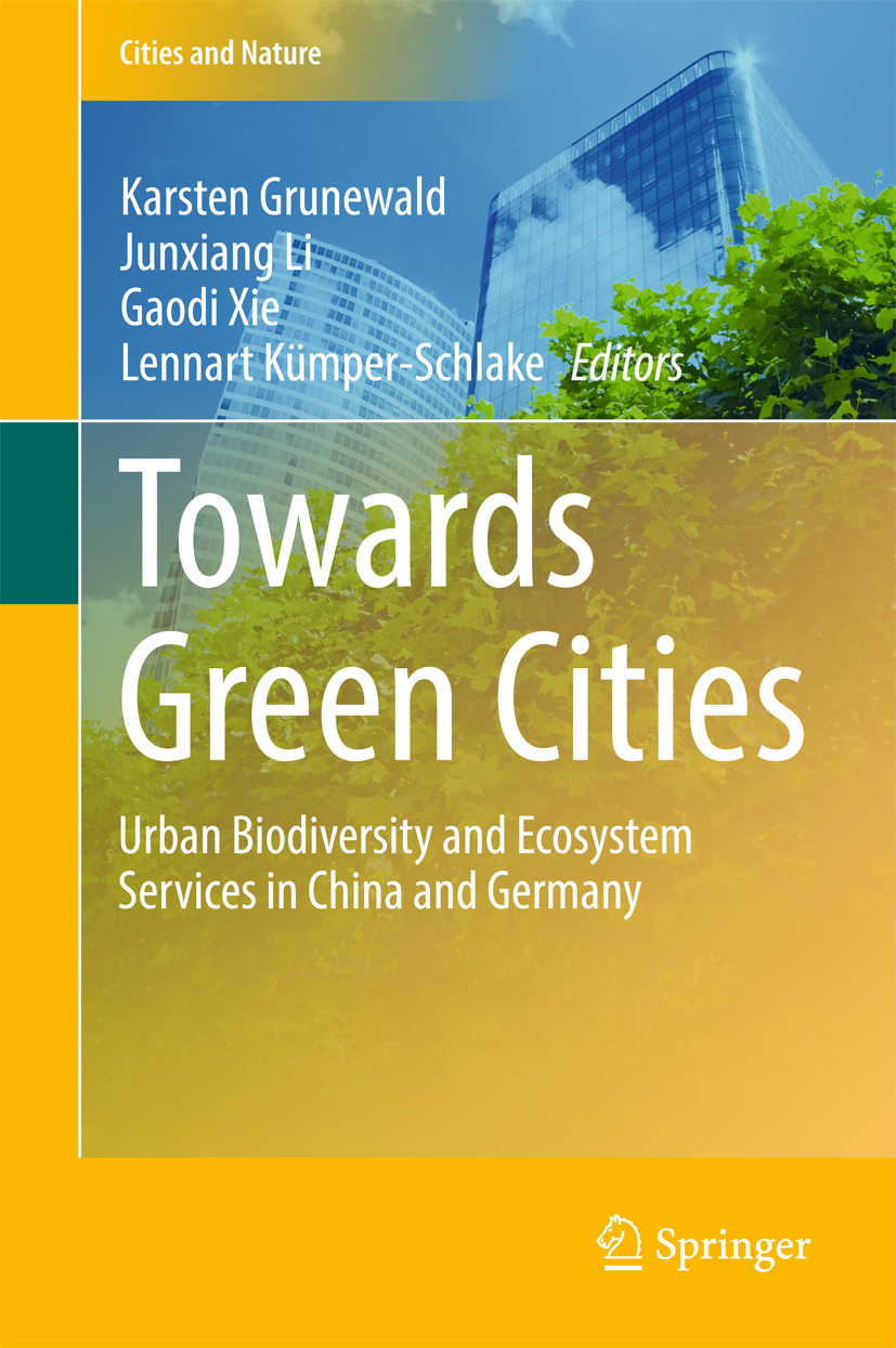 Grunewald, Karsten - Towards Green Cities, ebook