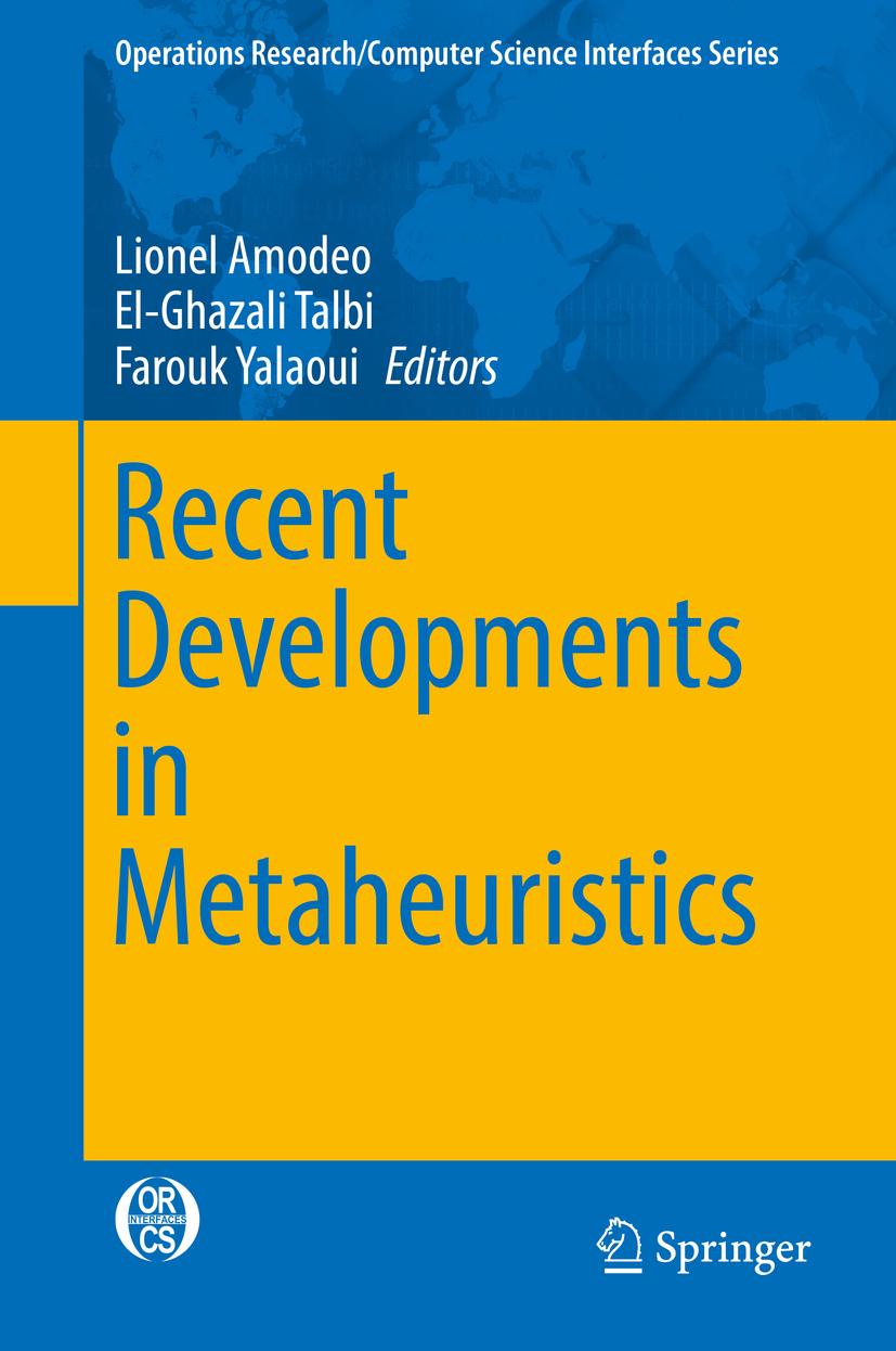 Amodeo, Lionel - Recent Developments in Metaheuristics, ebook
