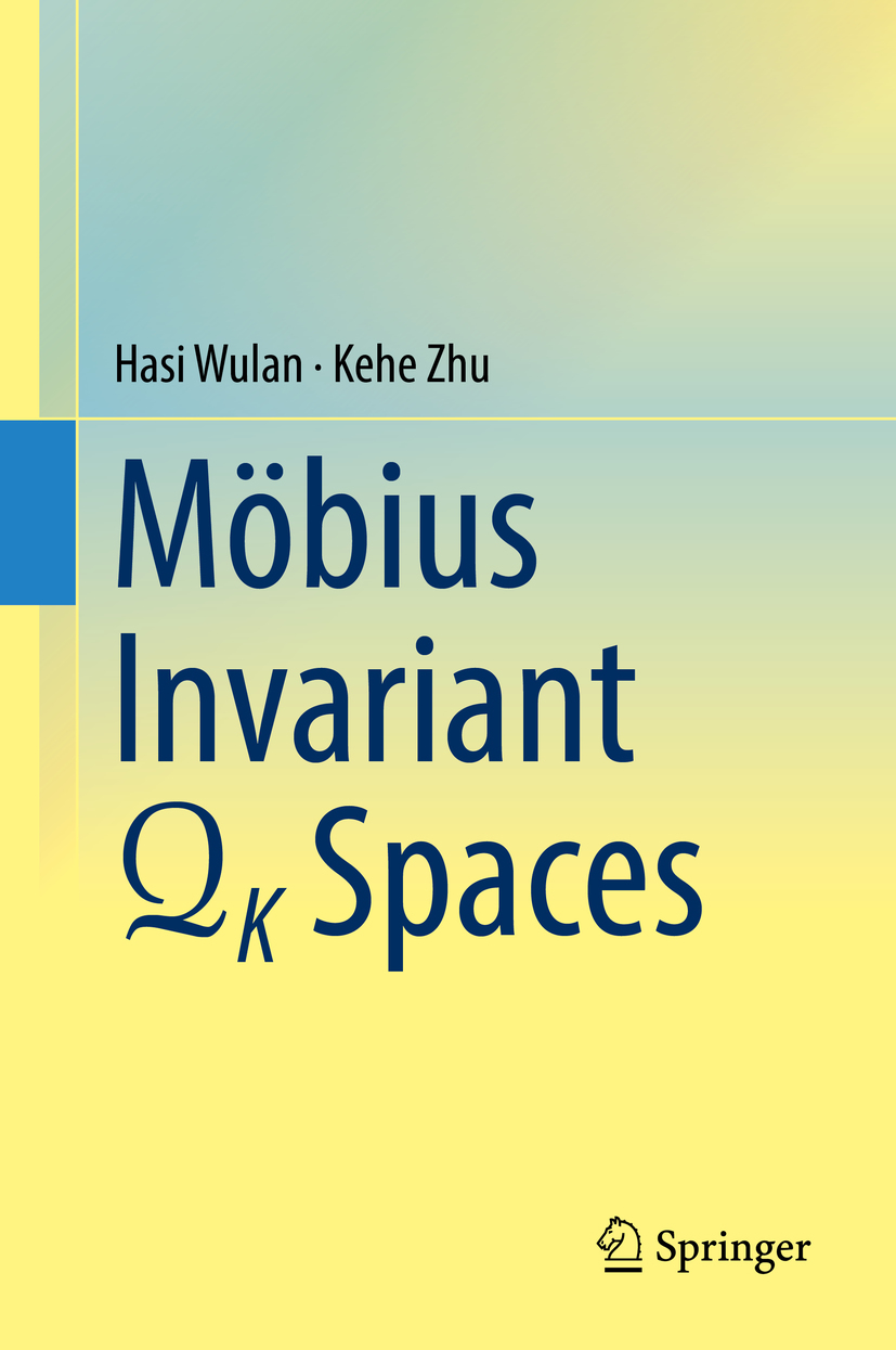 Wulan, Hasi - Mobius Invariant QK Spaces, ebook