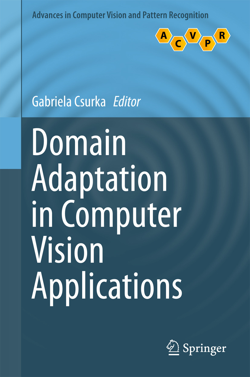 Csurka, Gabriela - Domain Adaptation in Computer Vision Applications, ebook