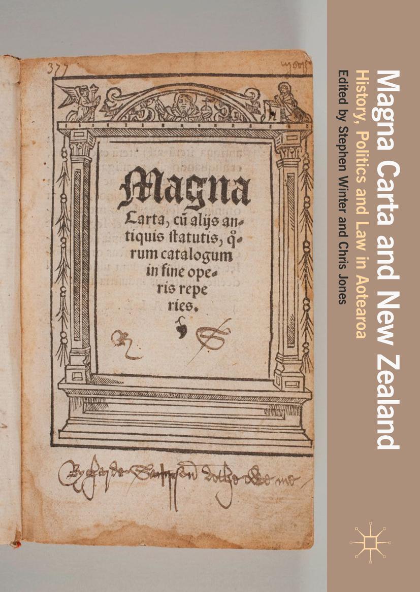 Jones, Chris - Magna Carta and New Zealand, ebook