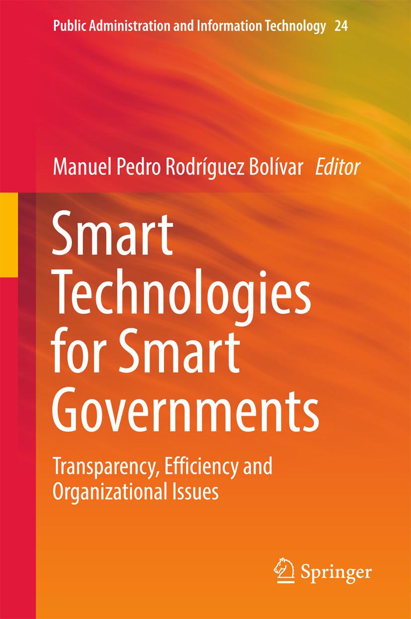 Bolívar, Manuel Pedro Rodríguez - Smart Technologies for Smart Governments, ebook