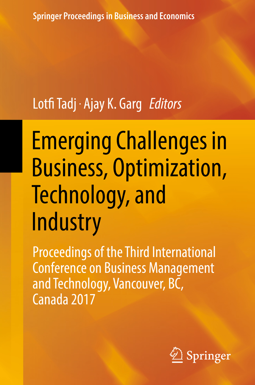 Garg, Ajay K. - Emerging Challenges in Business, Optimization, Technology, and Industry, ebook