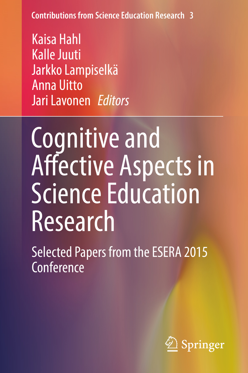 Hahl, Kaisa - Cognitive and Affective Aspects in Science Education Research, ebook