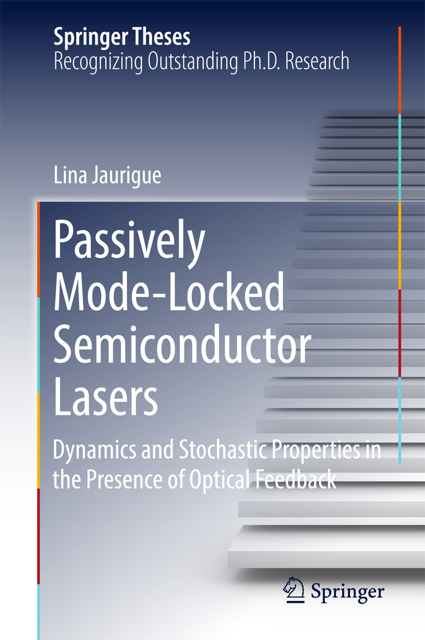 Jaurigue, Lina - Passively Mode-Locked Semiconductor Lasers, ebook