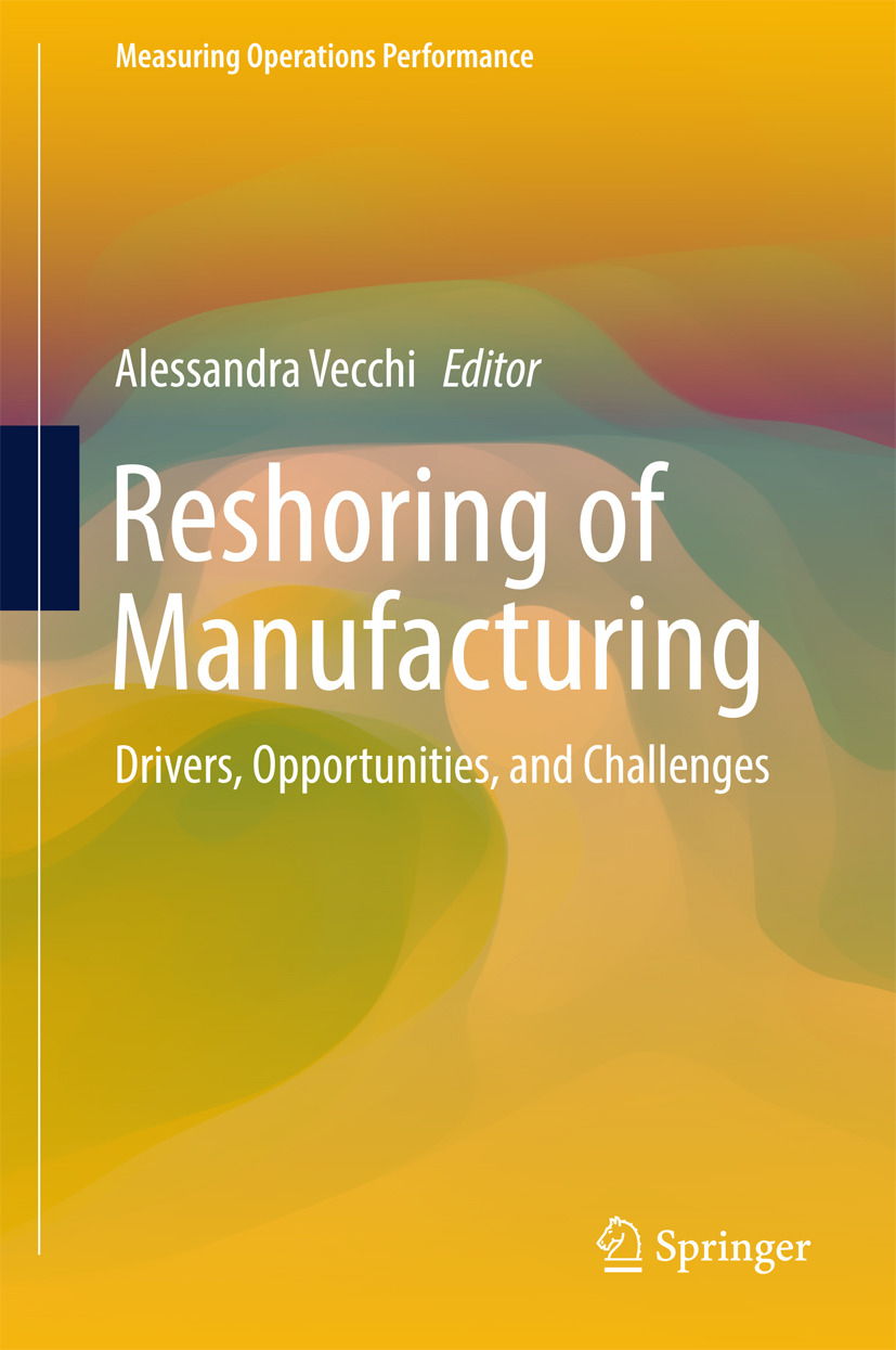 Vecchi, Alessandra - Reshoring of Manufacturing, ebook