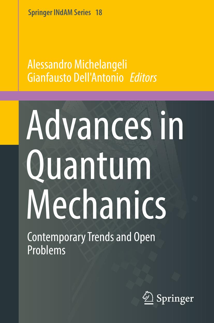 Dell'Antonio, Gianfausto - Advances in Quantum Mechanics, ebook