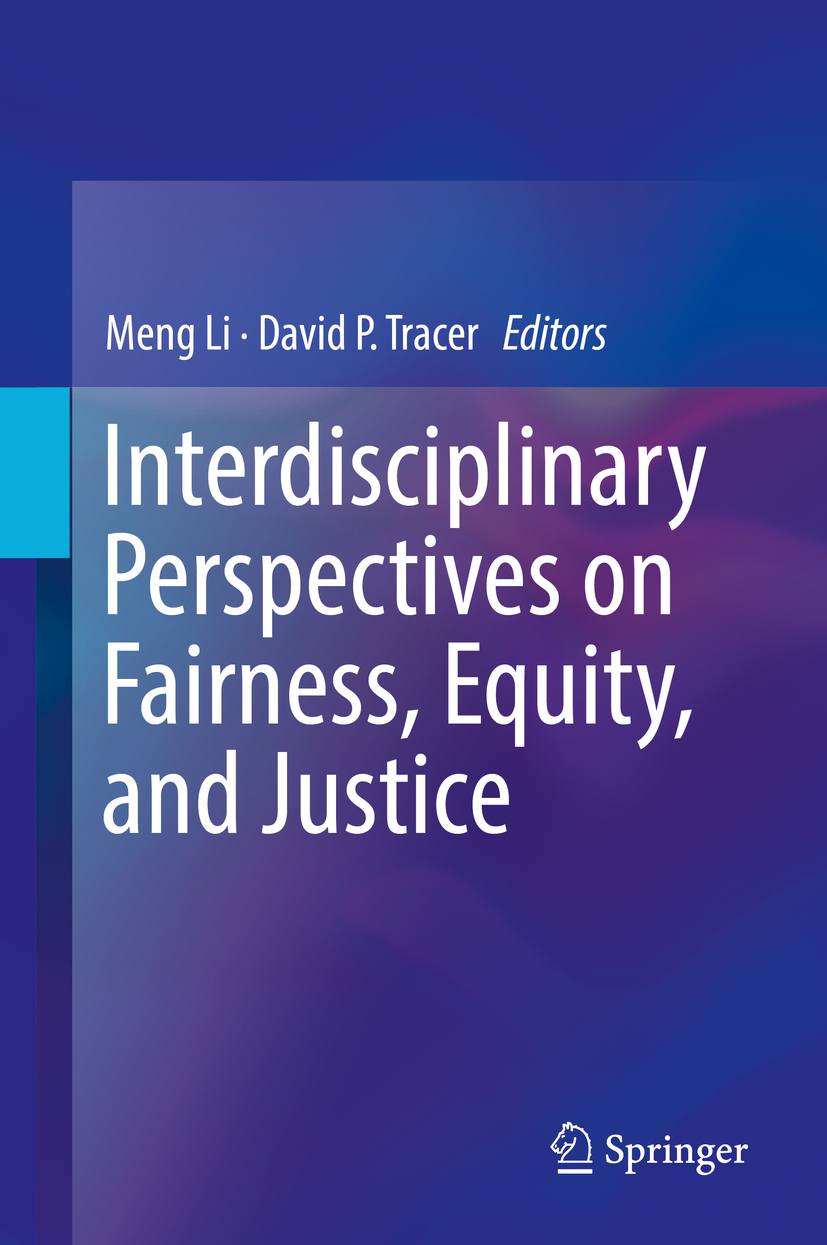 Li, Meng - Interdisciplinary Perspectives on Fairness, Equity, and Justice, ebook