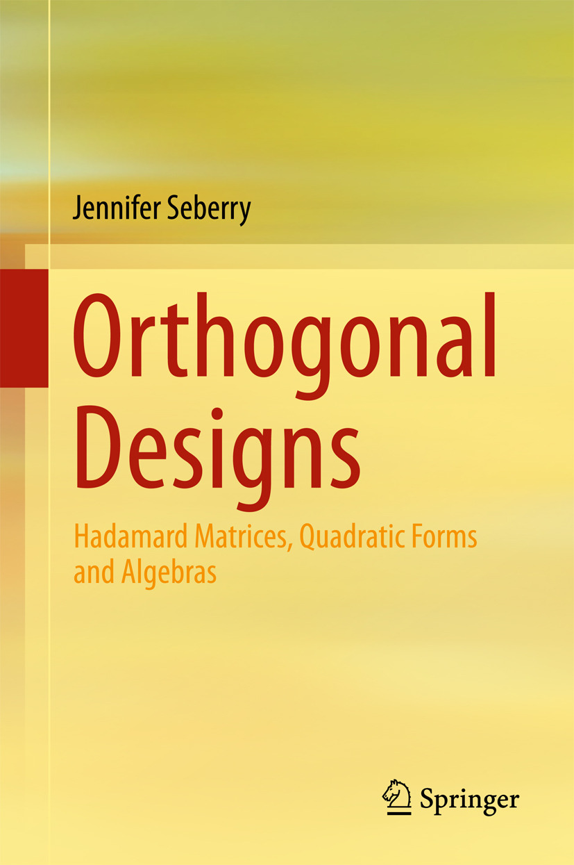 Seberry, Jennifer - Orthogonal Designs, ebook