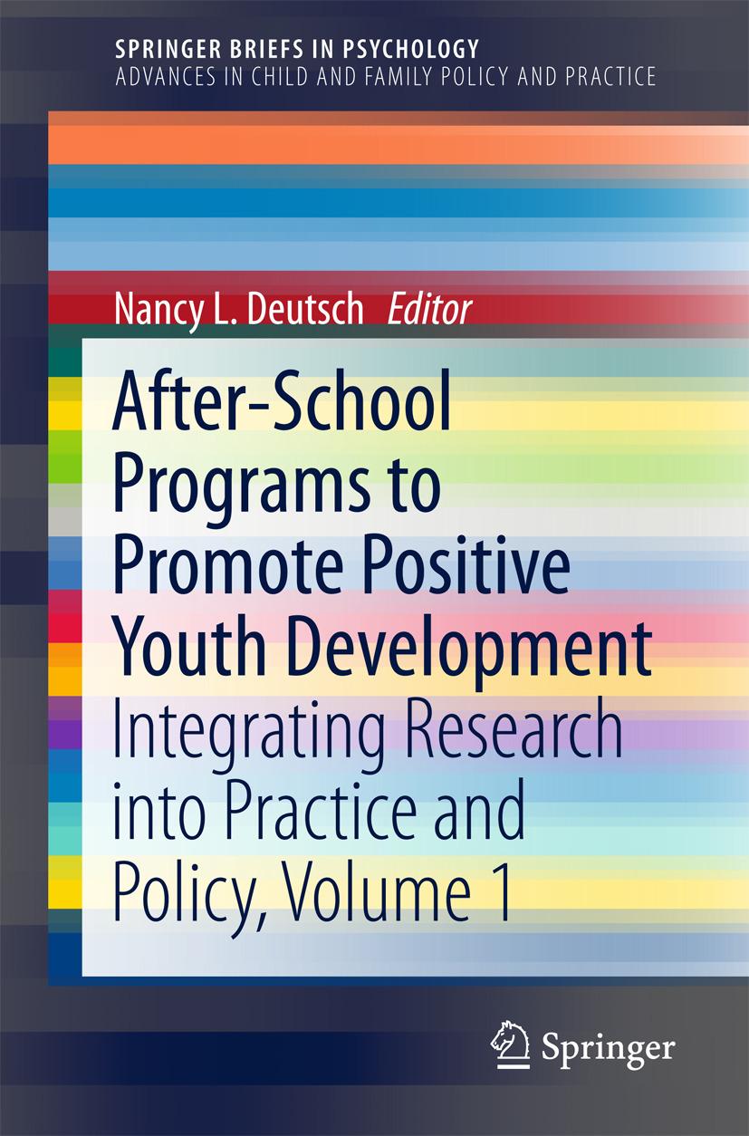 Deutsch, Nancy L. - After-School Programs to Promote Positive Youth Development, ebook