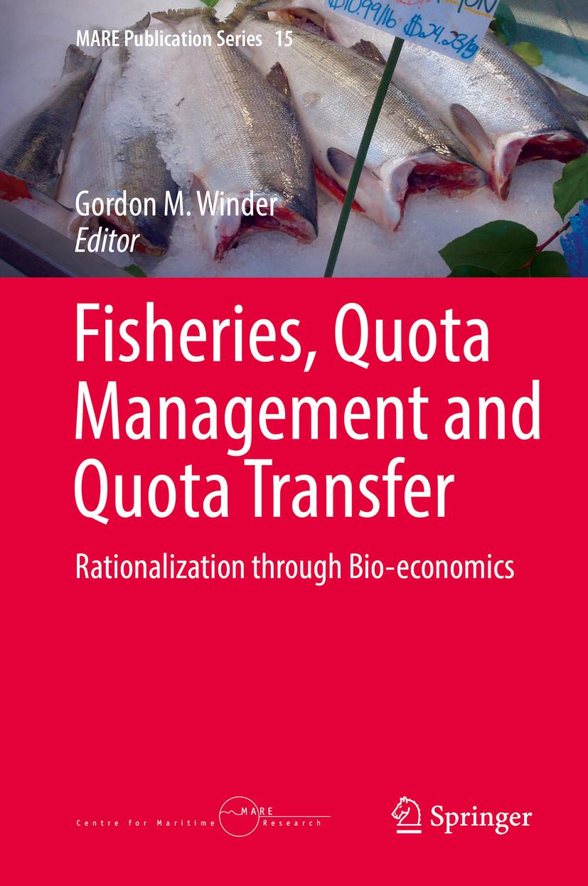 Winder, Gordon M. - Fisheries, Quota Management and Quota Transfer, ebook