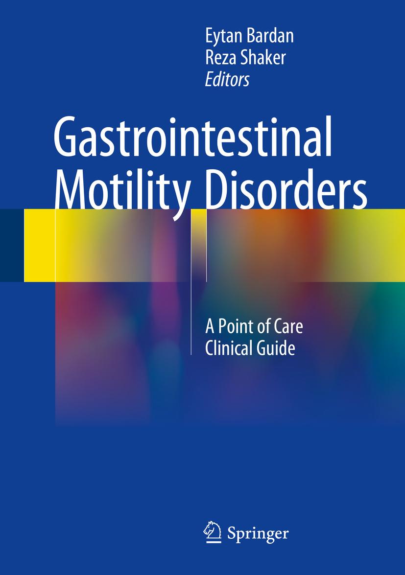 Bardan, Eytan - Gastrointestinal Motility Disorders, ebook