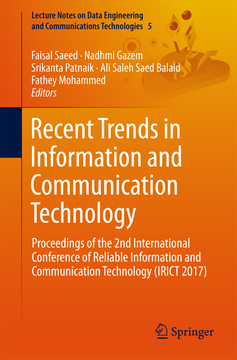 Balaid, Ali Saleh Saed - Recent Trends in Information and Communication Technology, e-kirja