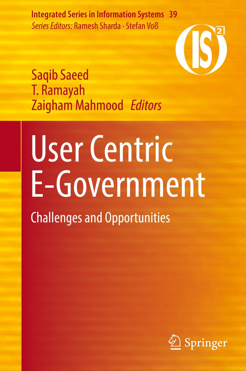 Mahmood, Zaigham - User Centric E-Government, ebook