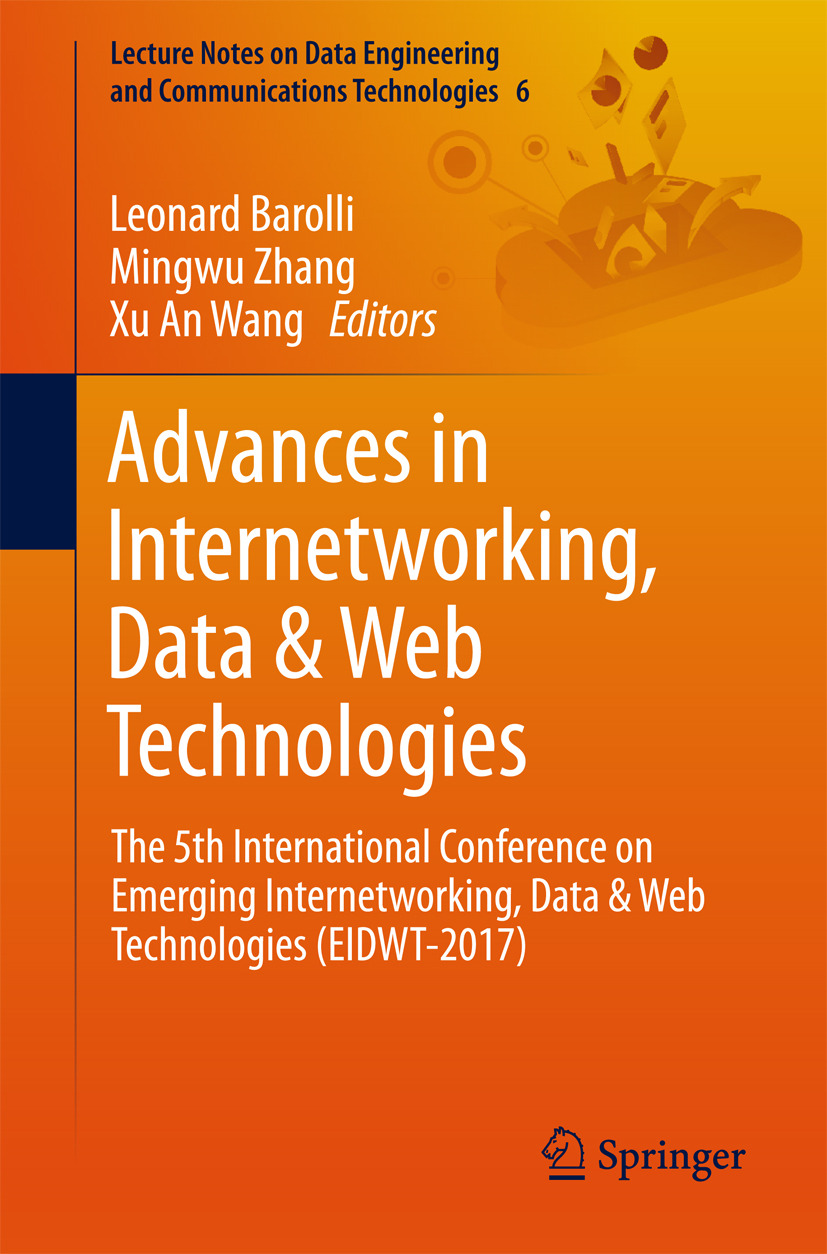 Barolli, Leonard - Advances in Internetworking, Data & Web Technologies, ebook