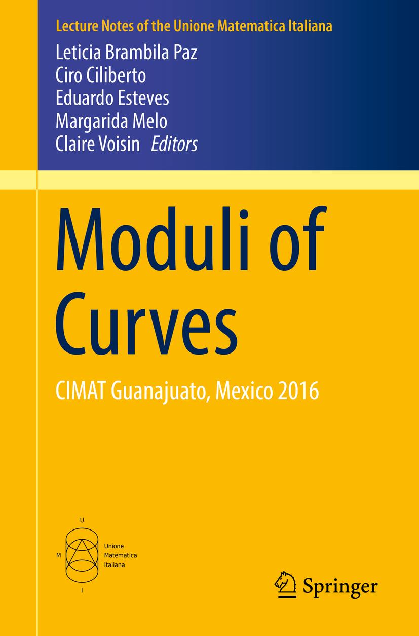 Ciliberto, Ciro - Moduli of Curves, e-kirja