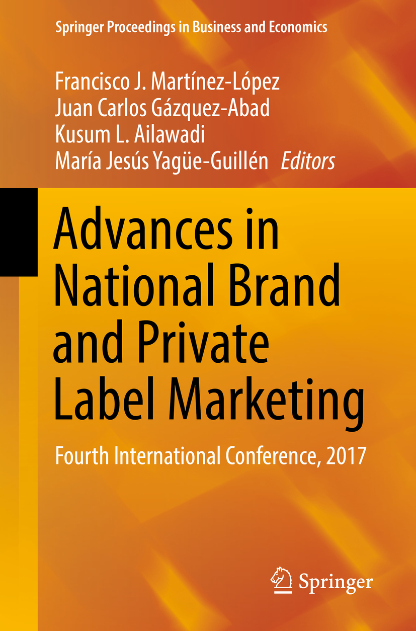 Ailawadi, Kusum L. - Advances in National Brand and Private Label Marketing, ebook
