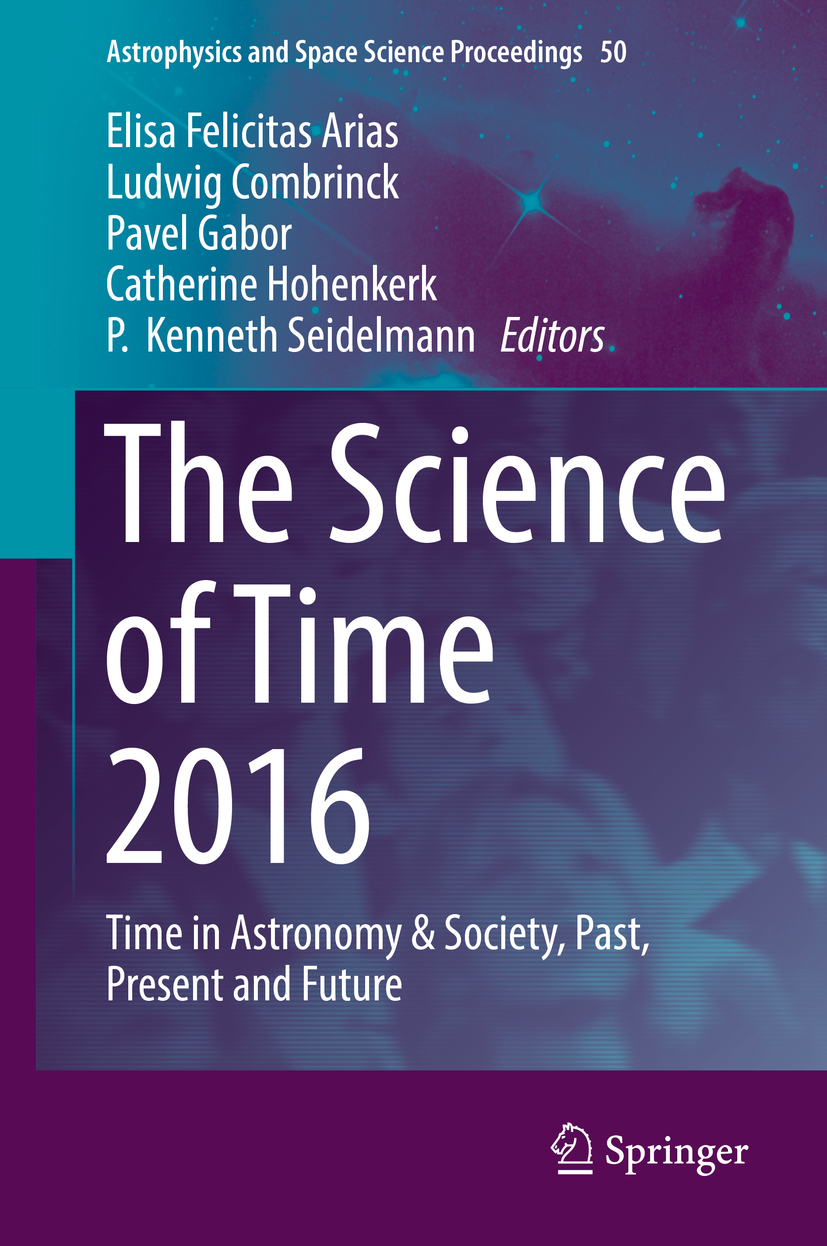 Arias, Elisa Felicitas - The Science of Time 2016, ebook