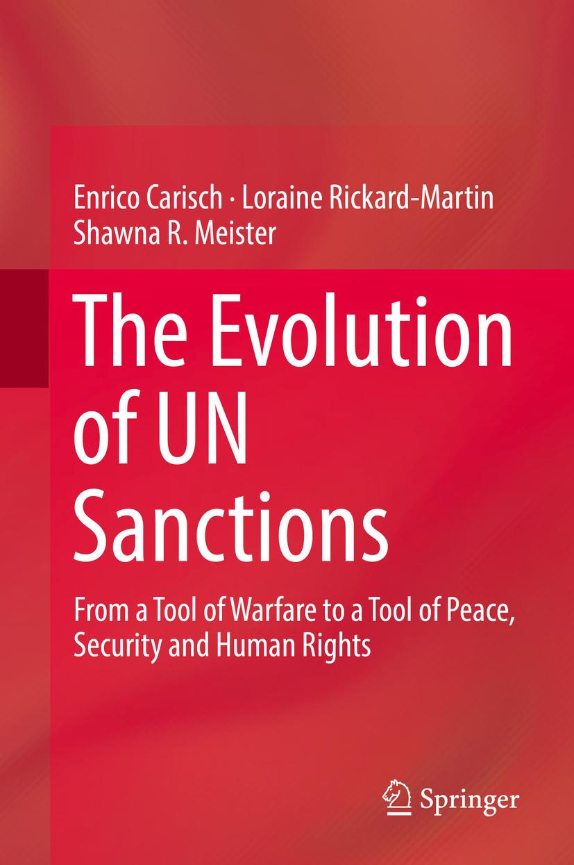 Carisch, Enrico - The Evolution of UN Sanctions, ebook