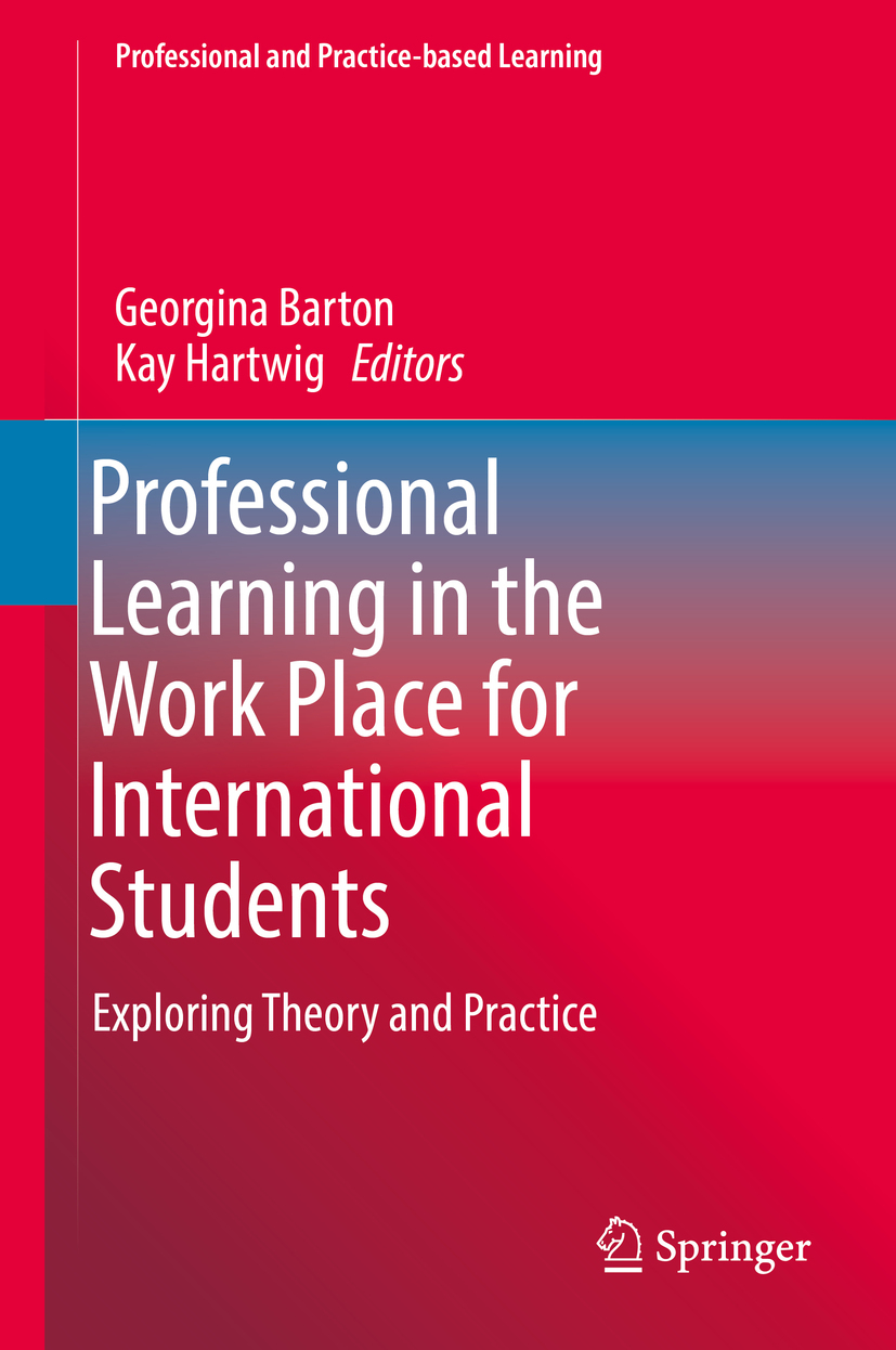 Barton, Georgina - Professional Learning in the Work Place for International Students, ebook