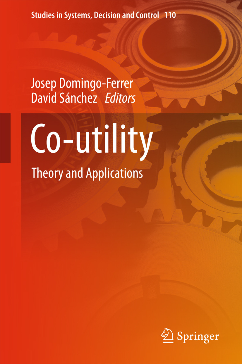 Domingo-Ferrer, Josep - Co-utility, ebook