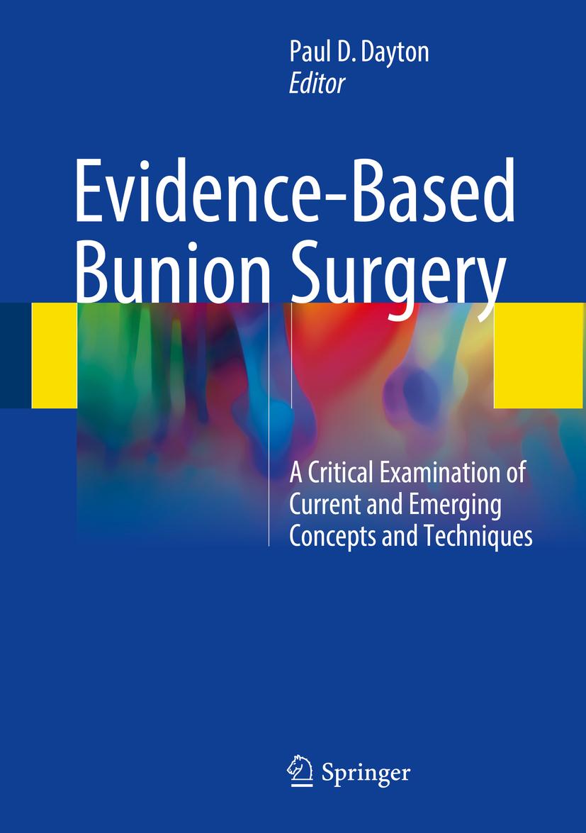 Dayton, Paul D. - Evidence-Based Bunion Surgery, ebook