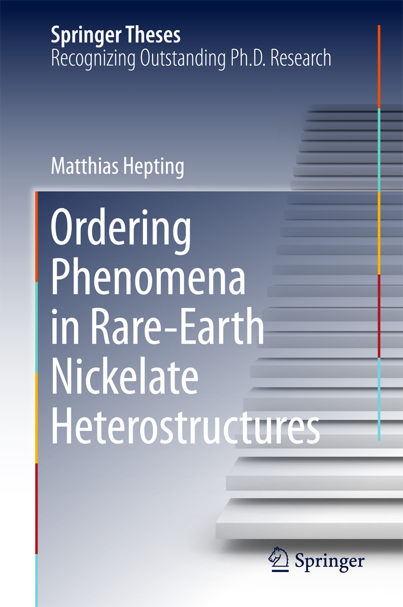 Hepting, Matthias - Ordering Phenomena in Rare-Earth Nickelate Heterostructures, ebook