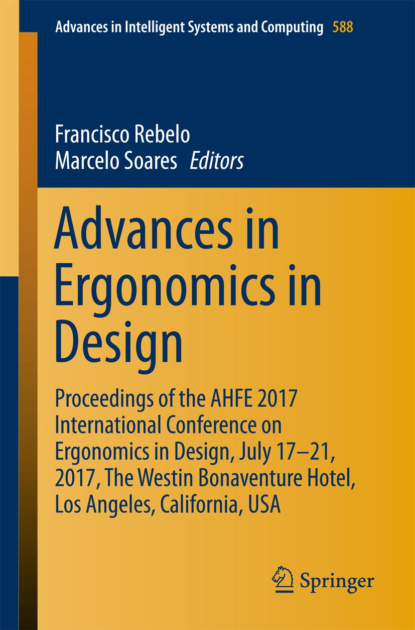 Rebelo, Francisco - Advances in Ergonomics in Design, ebook