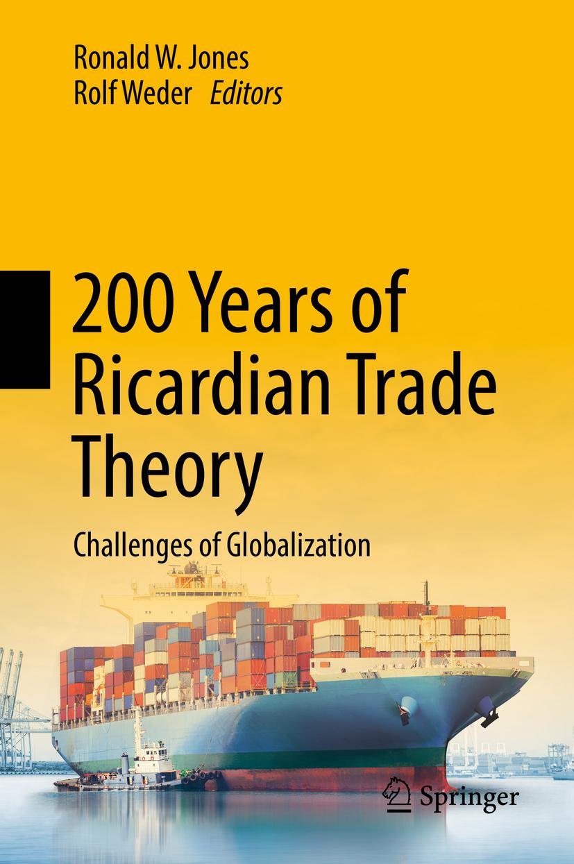 Jones, Ronald W. - 200 Years of Ricardian Trade Theory, ebook