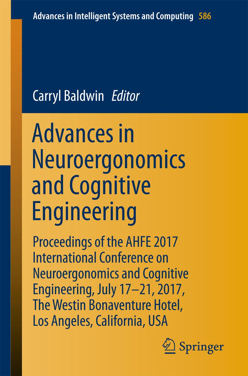 Baldwin, Carryl - Advances in Neuroergonomics and Cognitive Engineering, ebook