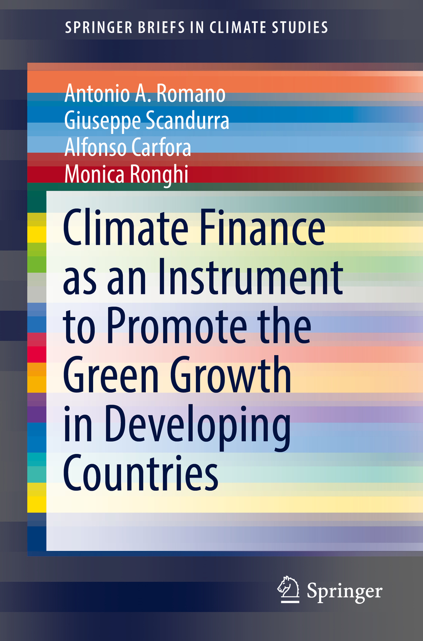 Carfora, Alfonso - Climate Finance as an Instrument to Promote the Green Growth in Developing Countries, ebook