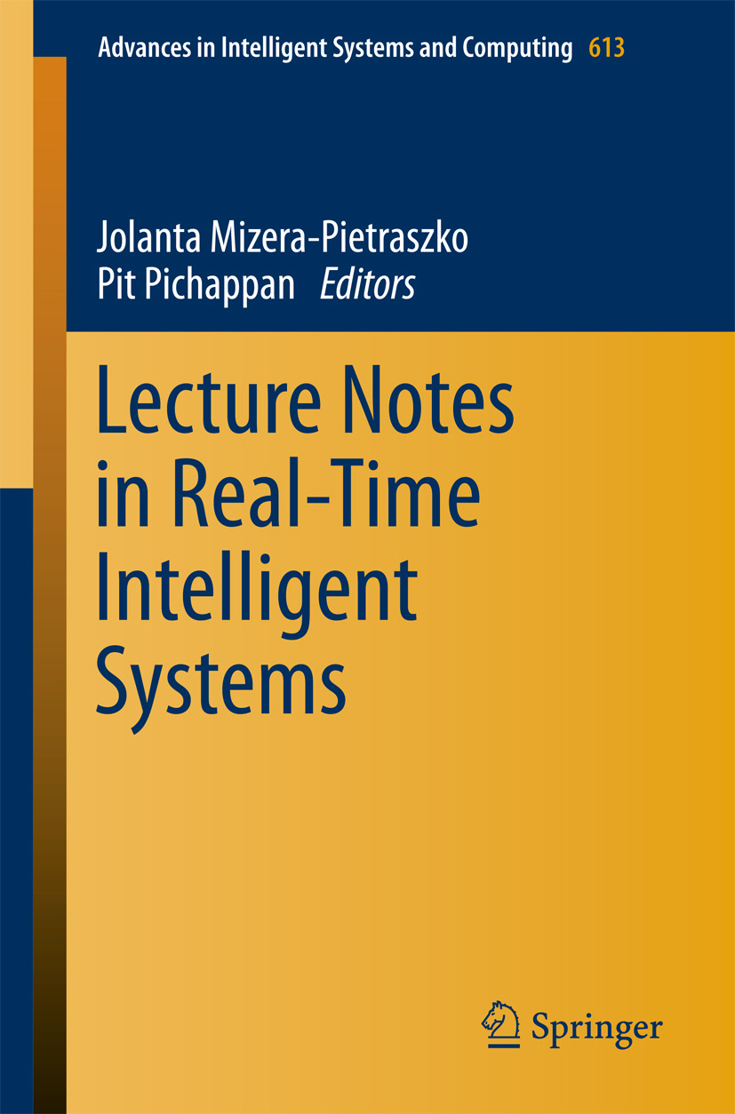 Mizera-Pietraszko, Jolanta - Lecture Notes in Real-Time Intelligent Systems, ebook