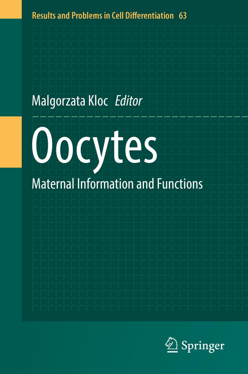 Kloc, Malgorzata - Oocytes, ebook
