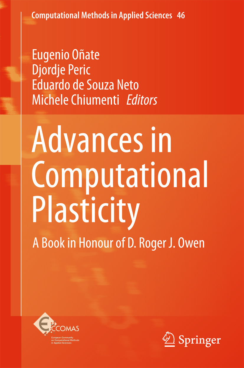 Chiumenti, Michele - Advances in Computational Plasticity, ebook