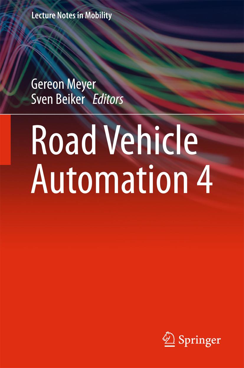 Beiker, Sven - Road Vehicle Automation 4, ebook