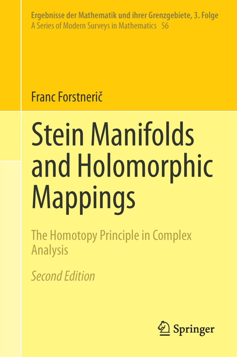 Forstnerič, Franc - Stein Manifolds and Holomorphic Mappings, ebook