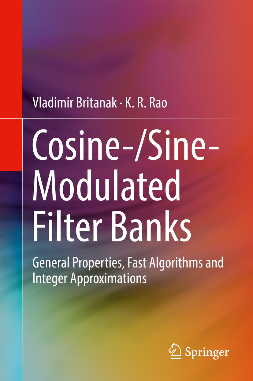 Britanak, Vladimir - Cosine-/Sine-Modulated Filter Banks, ebook